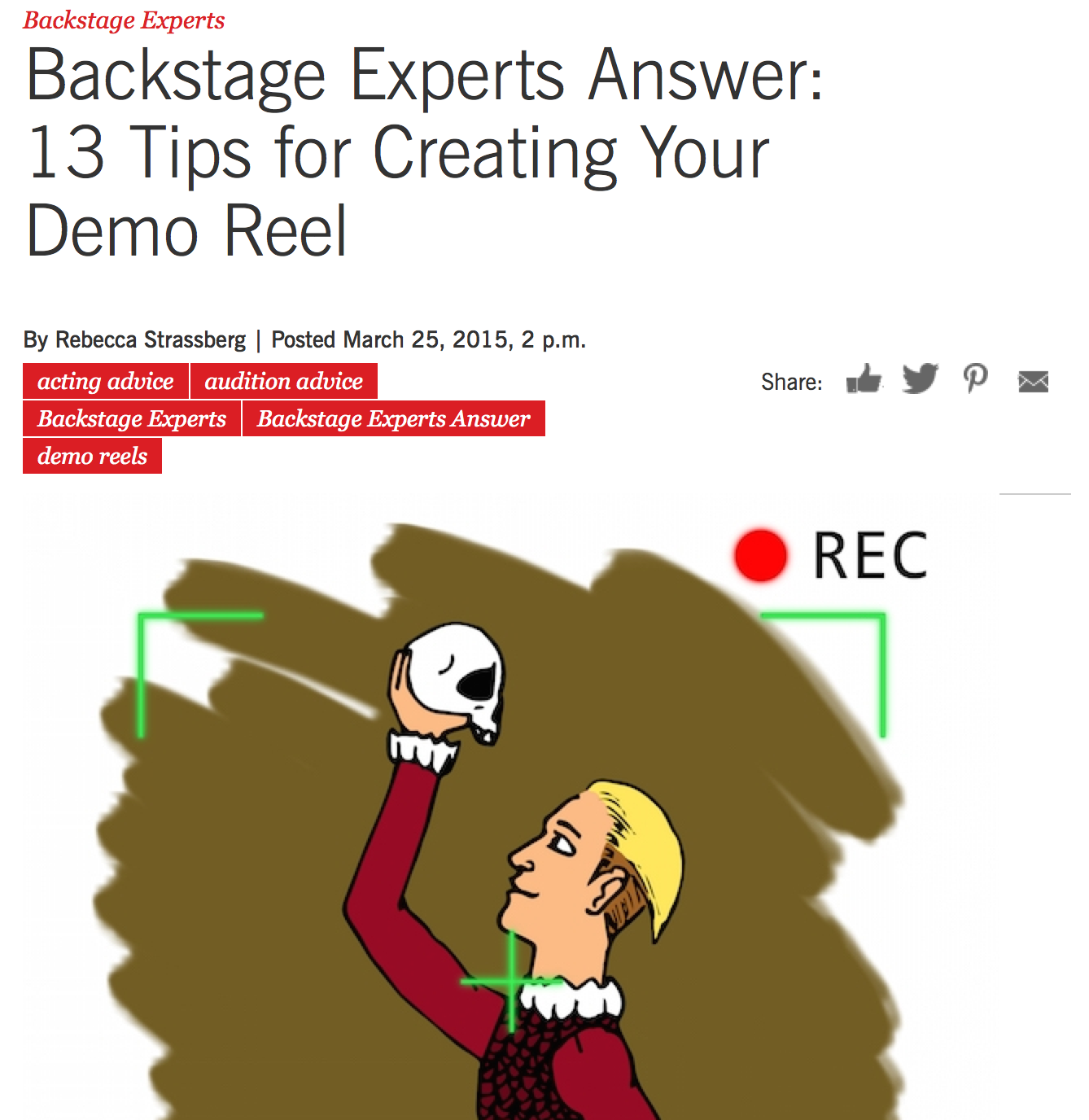 Acting Demo Reel