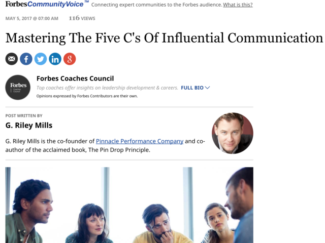 Forbes Coaches Council Publicity
