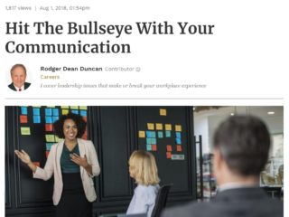 Thought Leadership Publicity Forbes