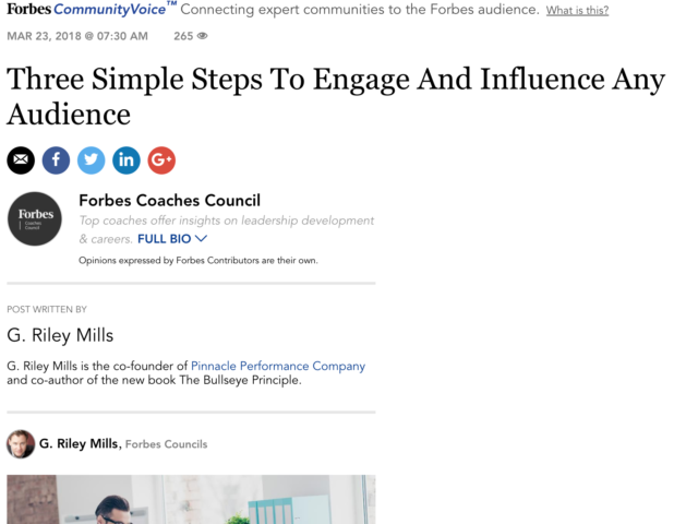 Engage Influence Any Audience